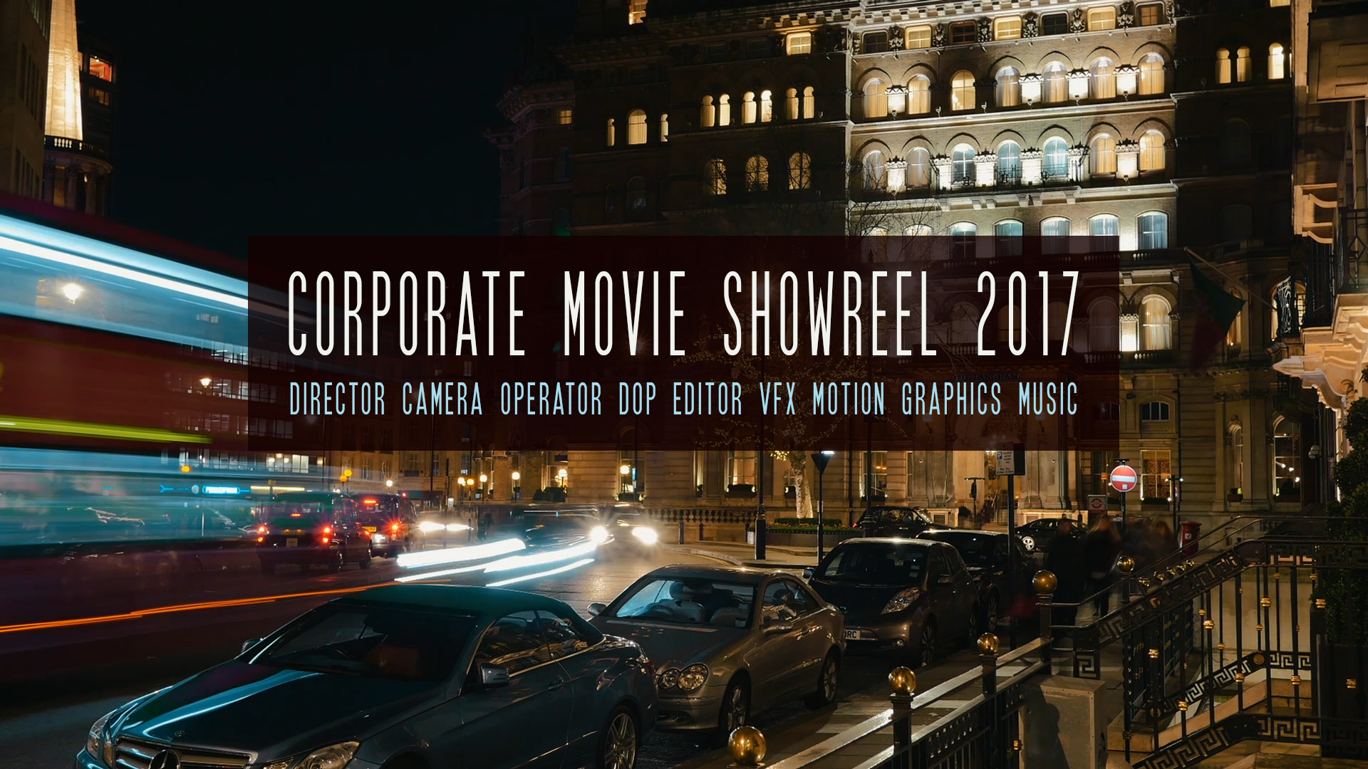Corporate Movie Reel
